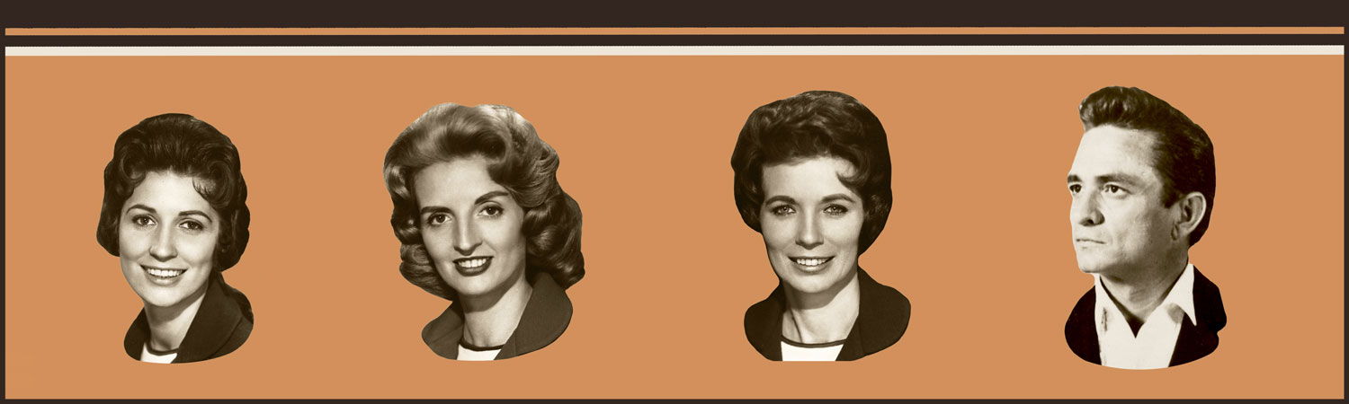 The Winding Stream footer image - Johnny Cash and the Carter sisters