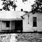Cash house in Dyess, Arkansas
